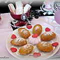 madeleines aux biscuits roses de Reims