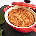 Cassolette de saumon et pommes de terre, ou pâté au saumon sans pâte, sans gluten