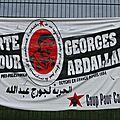 Manifestation pour la libération de Georges Ibrahim Abdallah - <b>Lannemezan</b> 25 octobre