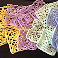 Simply crochet - plein de grannies !!!!!