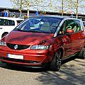 Renault avantime (Rencard Haguenau avril 2011) 01