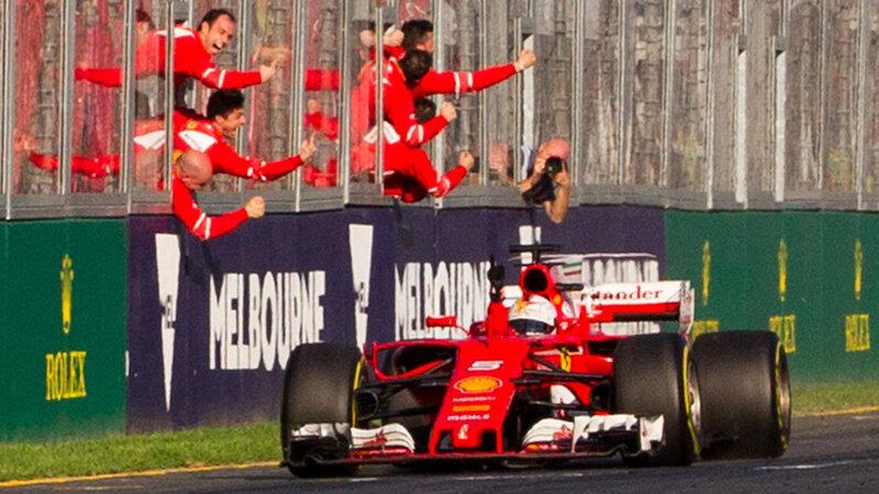 2018-Melboune-GP Australie-SF71H-Vettel-b