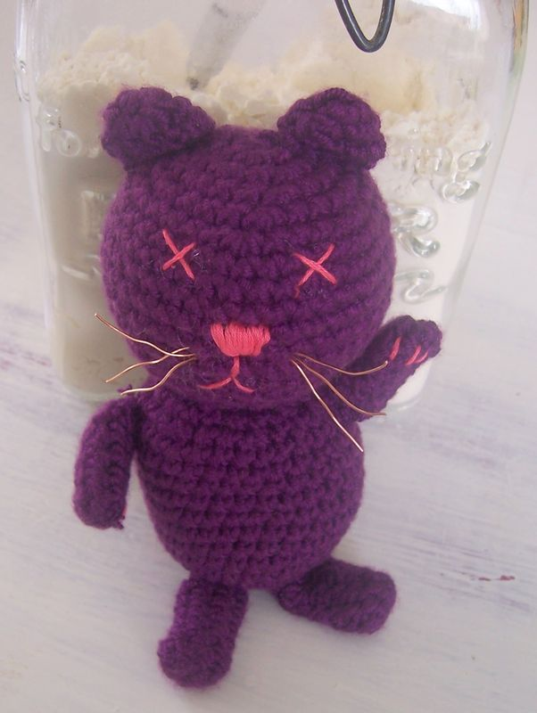 CHAT AMIGURUMI