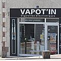 VAPOT'IN Couëron Loire-Atlantique cigarettes <b>électroniques</b>