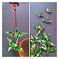 Ces petits oiseaux en <b>origami</b> vert prairie seront très bientôt sur la boutique en ligne des Fleurs...