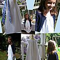 Robe de première communion by bleu petitpois, un succès !
