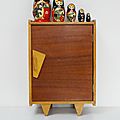 vintage grand berceau poup e valentine mulubrok brocante en ligne. Black Bedroom Furniture Sets. Home Design Ideas