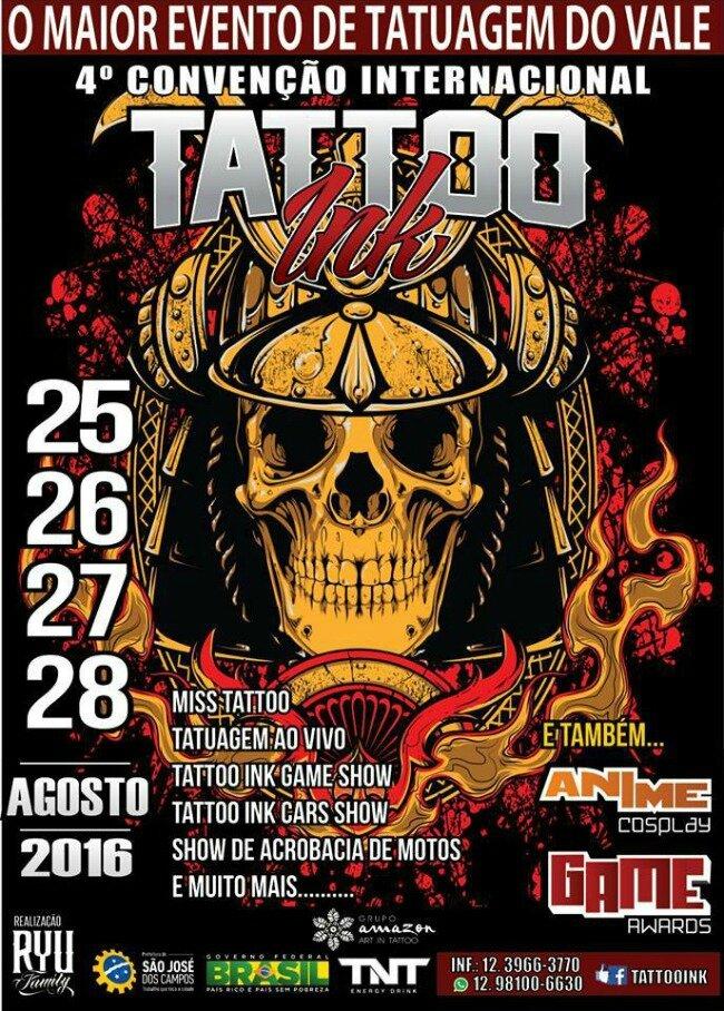 Tattoo Convention Ink Brasil 25 - 28 Août 2015
