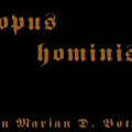 Opus Hominis (Abattoir, désespoir)