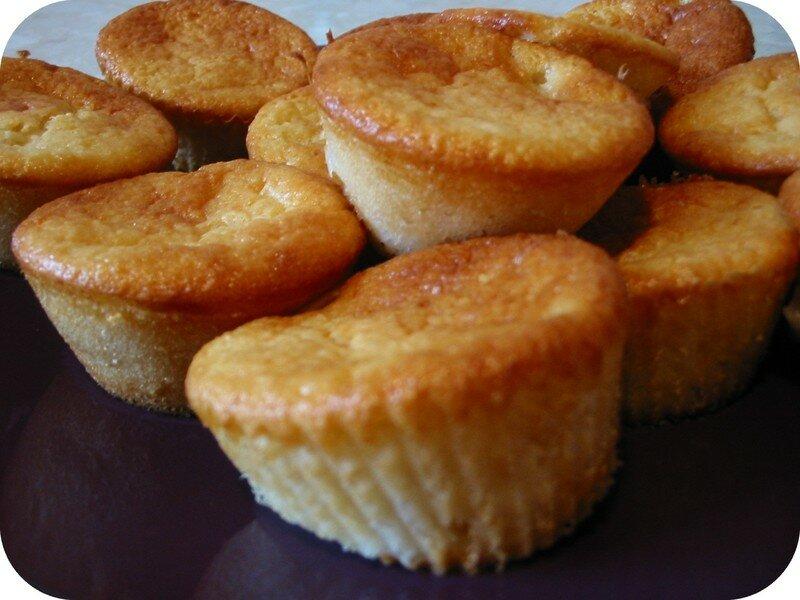 muffins poire-amande