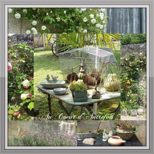 Jardin Au Coeur d'Autrefois S