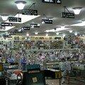 Ancien bowling devenu magasin de disques