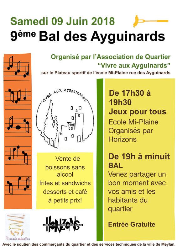 Bal Ayguinards 2018 - impression 4 A2, 50 A3 et 50 A4 Fred