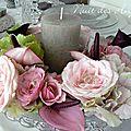 décoration de table féérique