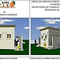 Ajak 2017 : notre projet de construction de latrines et de douches sur le marché de korgom