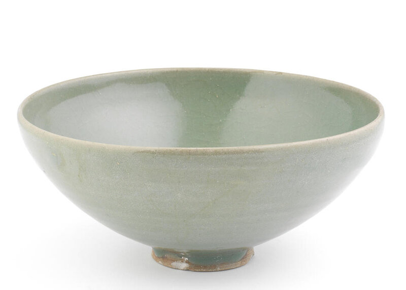 A rare Junyao green bowl, Song-Yuan Dynasty (960-1368)