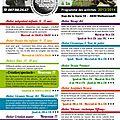Le programme 2013-2014 en détail...