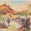 COURTOIS Jacques - Marché marocain
