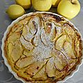Clafoutis aux pommes et citron