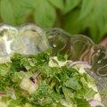 Fenouil et angélique une salade très printannière