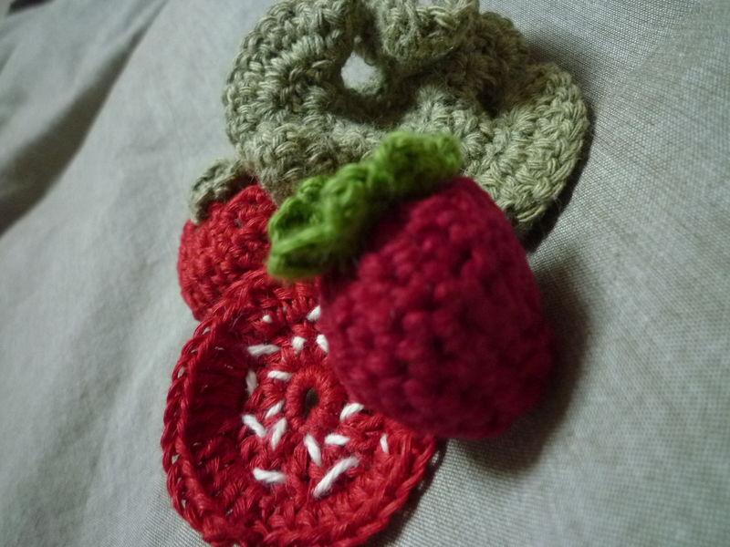 légumes en crochet