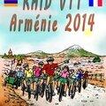 Bande dessinée - Comic ... RAID VTT - Fahrradtour ARMENIEN 2014