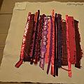 Art textile: echantillon 1 : le filmoplast