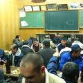 Fete avec le sgens du village de Morotsuka