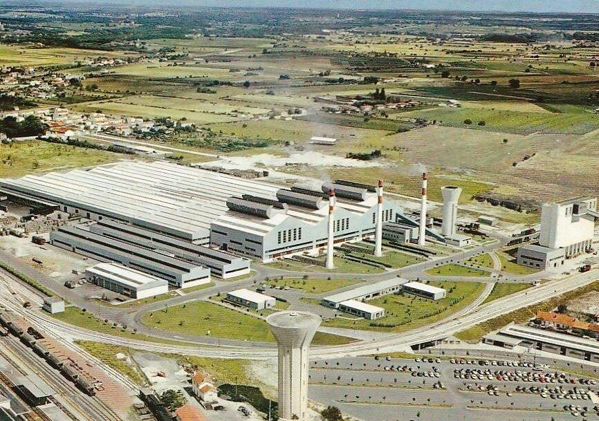 Cognac, l'usine St-Gobain