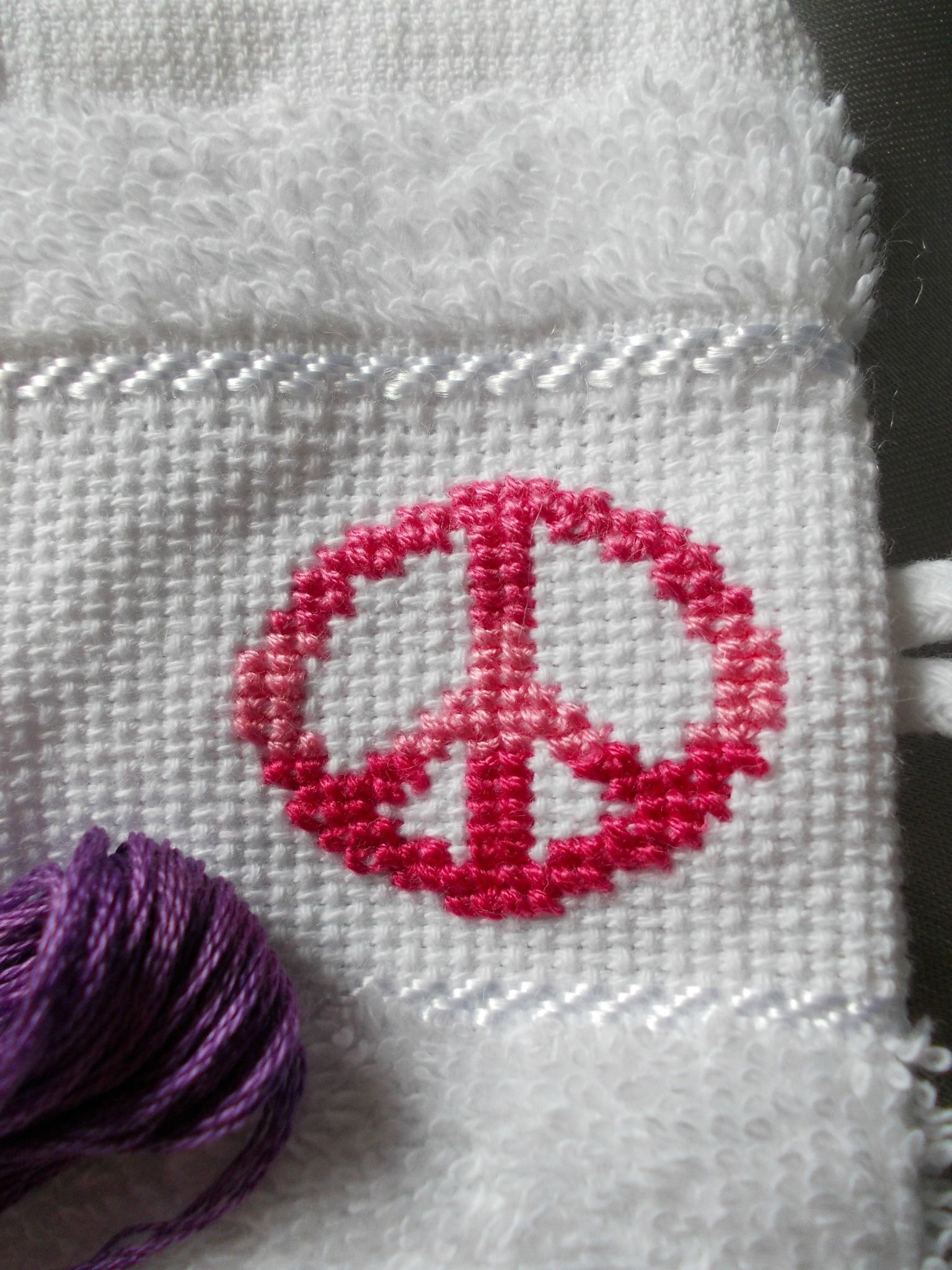 PEACE AND LOVE - DEGRADE ROSE