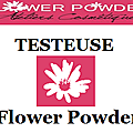Testeuse pour flower powder :)
