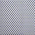Tissu étoile bleu