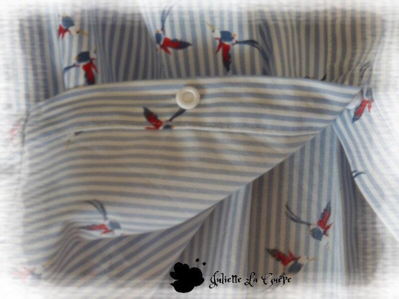 Millie Blouse blanche colibri4