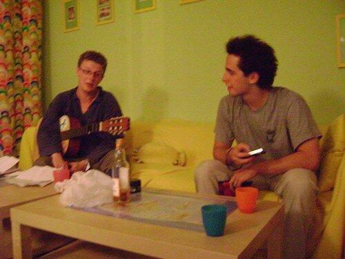 Pologne, Cracovie, avec Mathieu et Pierre