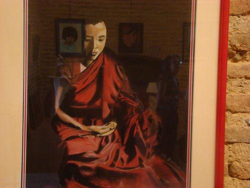 Méditation - pastel 70 x 55