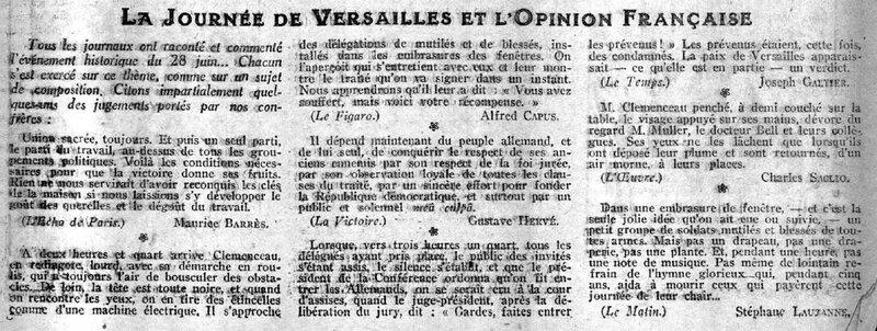 Annales traité de Versailles1