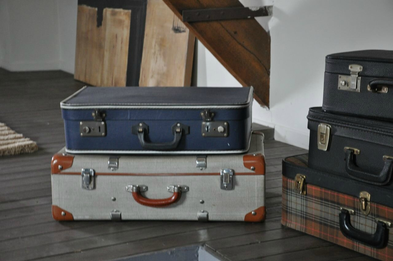 valises retro