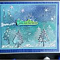 Une carte de Noël pour le forum <b>Katzelkraft</b> / A little Christmas card for the <b>Katzelkraft</b> forum