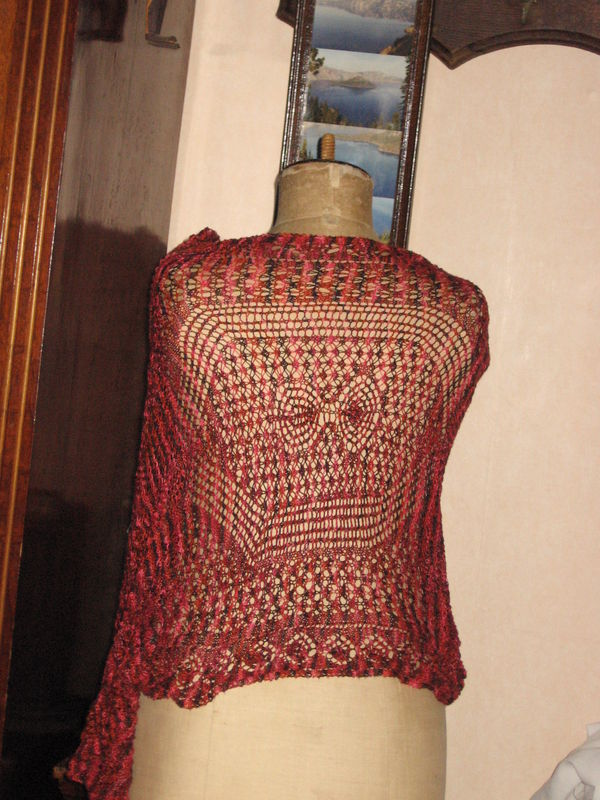 Spring Shawl Surprise Yarn : Andrea from Schaefer Yarns