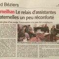 Article Midi Libre du 15/12/2015