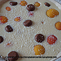 Tarte abricots, coco et caramel