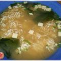 Soupe miso tanoshi