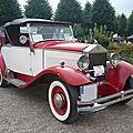 <b>MATHIS</b> type MY roadster 1927