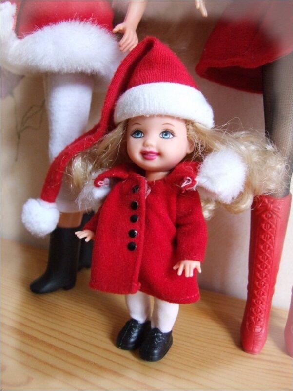 Barbie Holiday Sisters (4) Kelly