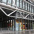 Je suis allée voir l'expo sheila hicks sur la mezzanine de beaubourg