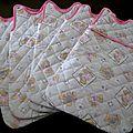 Couverture pour les bébés prémas et colis reçus ...