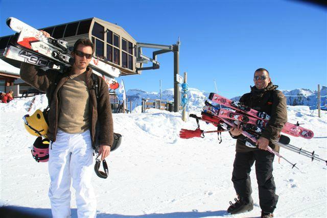 porteurs de ski
