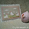 Petites poules blanches...