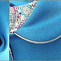 Vesta Agatha bleu de Cobalt10