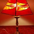 Lampe rouge - 150 euros